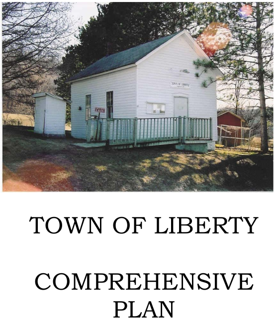 Front page of the Town of Liberty 2008 Comprehensive Plan